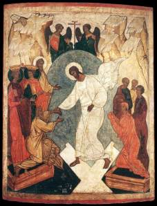 Unknown - Resurrection of Christ and the Harrowing of Hell (Russian, early C16th)