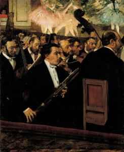 Degas- l'orchestre