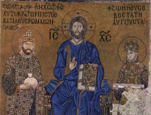 Hagia Sophia - Mosaic of Christ with Constantine IX and Zoe