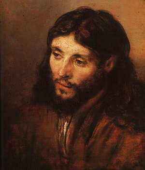 Rembrandt - Portrait of Christ's Head (1650)