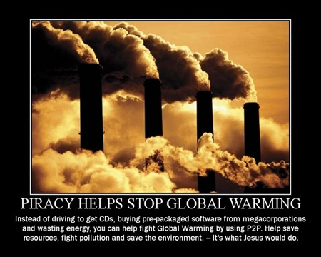 piracy global warming