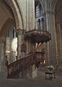 Calvin's pulpit in St-Pierre cathedral