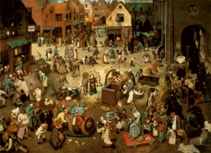 Bruegel - The Fight Between Carnival and Lent