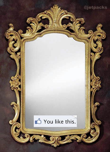 Mirror – Society and Literature – the paradox