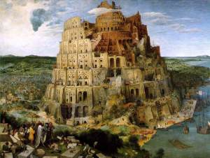 Pieter Bruegel the Elder - The Tower of Babel 1563 a