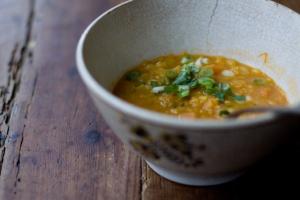 Coconut Red Lentil Soup