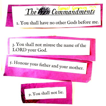 4 commandments