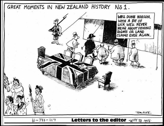 Scott, Great moments in New Zealand history