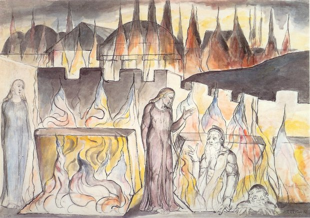 Blake Dante Hell X Farinata