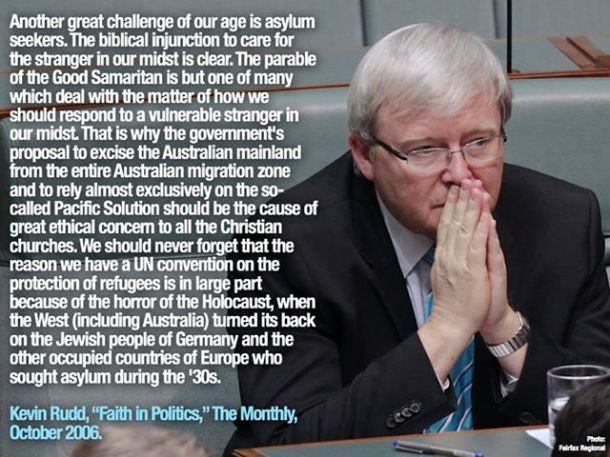 Rudd - Faith in Politics