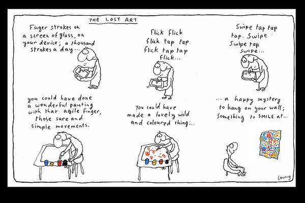 Leunig-iPad-The Lost Art