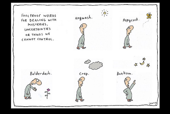 Leunig - Words for mystery