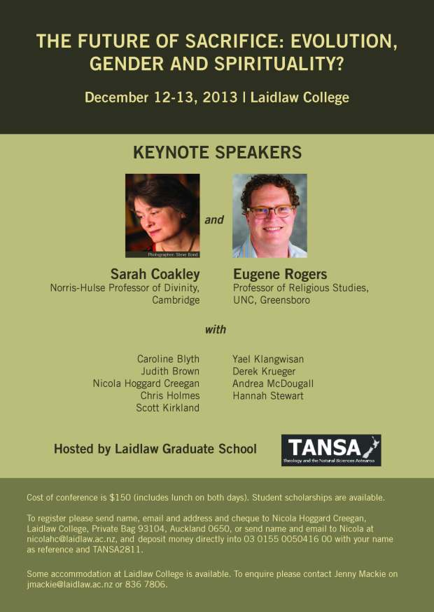tansa conference flyer