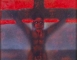 The Crucified Tekoteko by Darcy Nicholas