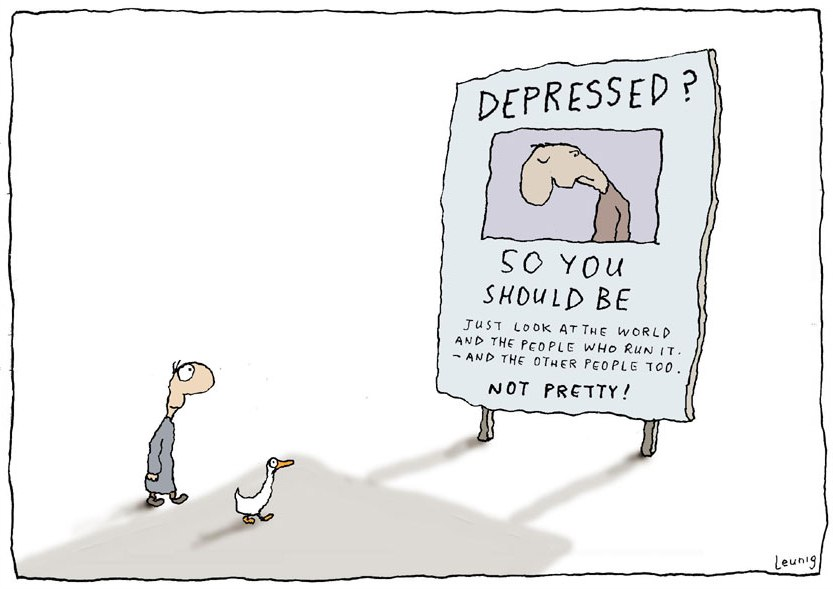 Michael Leunig Drawings Depressed-27dec