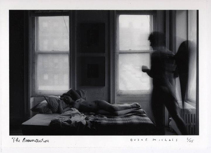 Duane Michals - The Annunciation