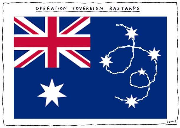 Leunig 'Letters'cartoon for Wednesday 19th February 2014