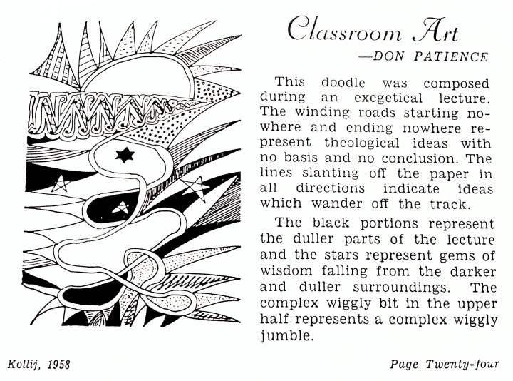 Lecture doodle