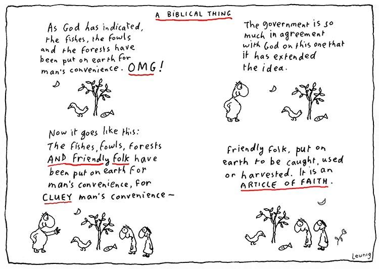 A Biblical Thing - 16 April 2014