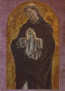 Cosmè Tura. St Dominic, c.1475