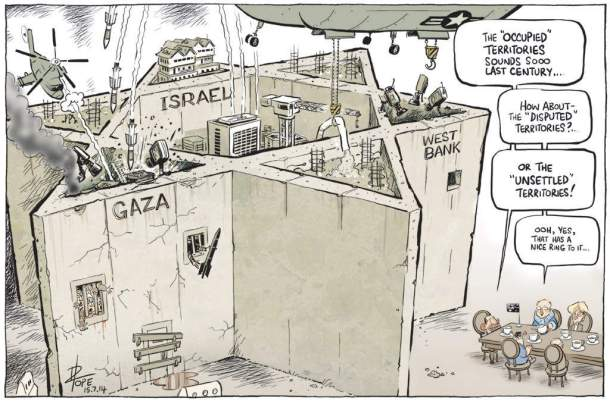 Israel, Gaza, and the West Bank