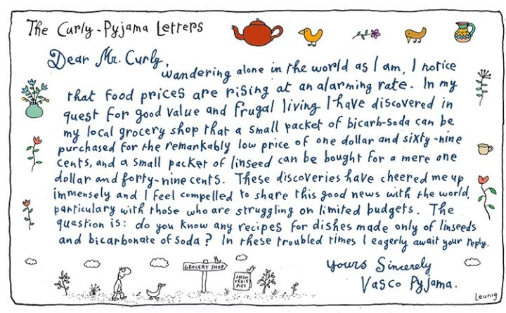 The Curly-Pyjama Letters - Cost of Living