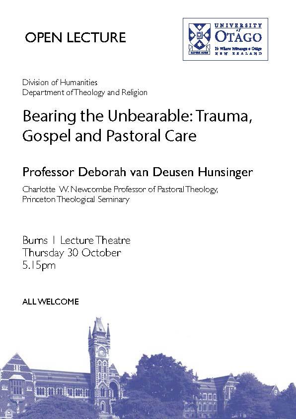 D van Deusen Hunsinger poster