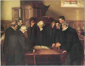 The Ordination of Elders in a Scottish Kirk, 1891