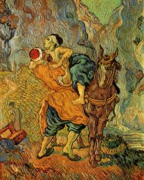 Van Gogh - The Good Samaritan. After Delacroix 1890