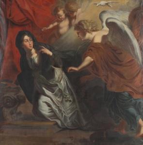 Johann Christian Schröder - The Annunciation