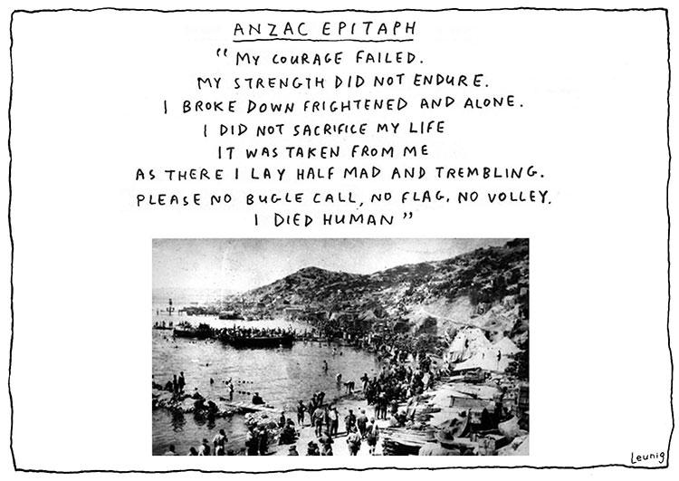 Anzac Epitaph