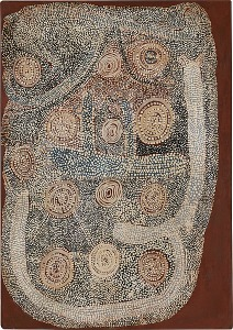 Shorty Lungkarta Tjungurrayi, Untitled, 1972
