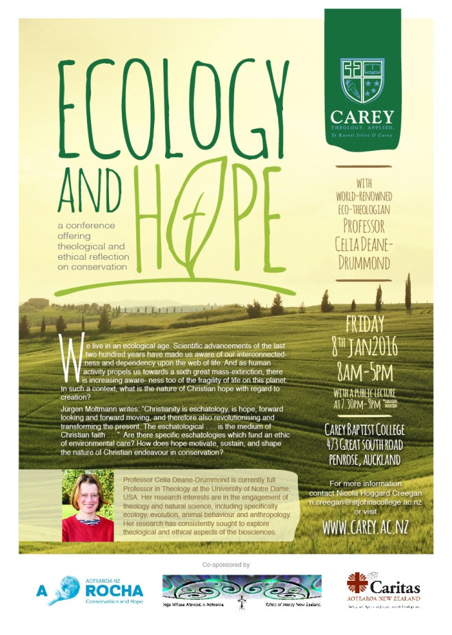 Ecology and Hope