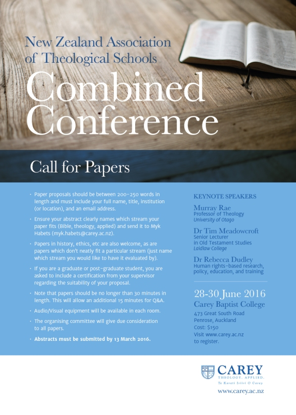 NZATS Conference