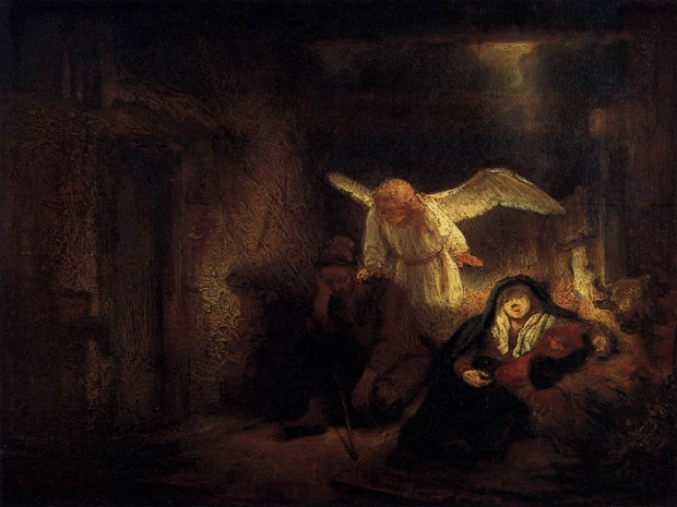 Rembrandt - Joseph's Dream (c. 1645)