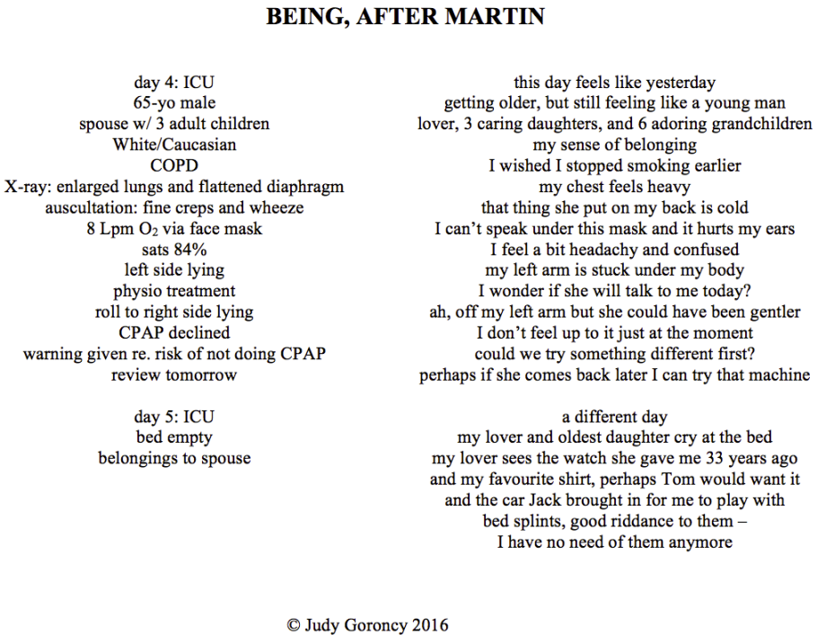 Being, After Martin