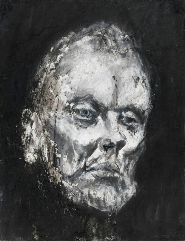 Harding - Study for John Bell as King Lear