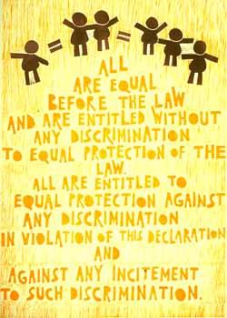 non discrimination