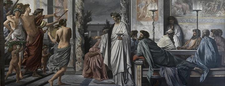 Plato's Symposium - Anselm Feuerbach