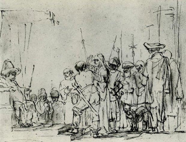 rembrandt-christ-before-caiaphas-c-1649-50