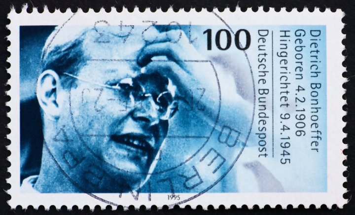 Postage Stamp Germany 1995 Dietrich Bonhoeffer