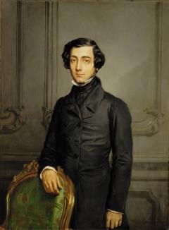 Alexis de Tocqueville; portrait by Théodore Chassériau, 1850