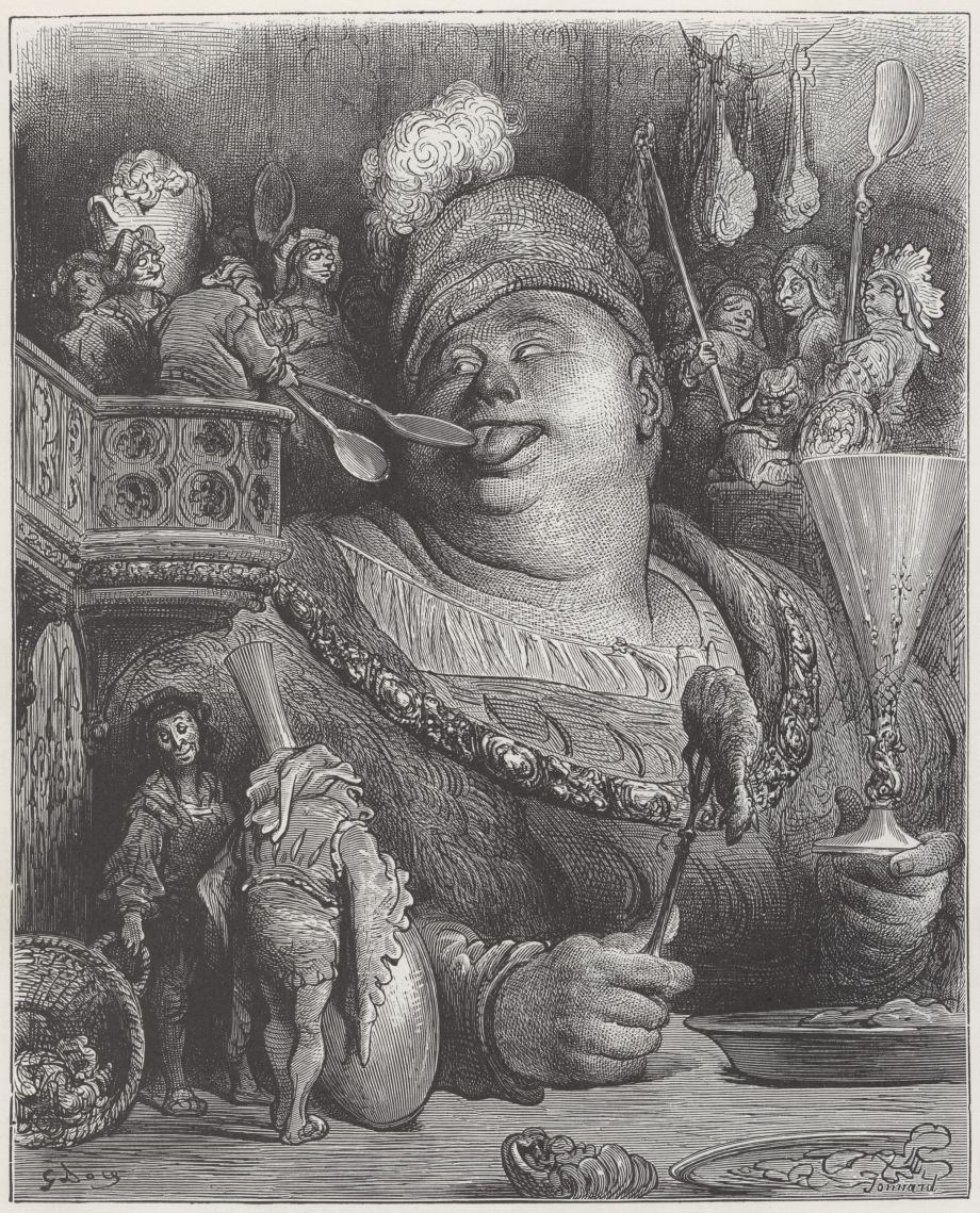 Gustave Doré - Pantagruel's meal (1854).jpg