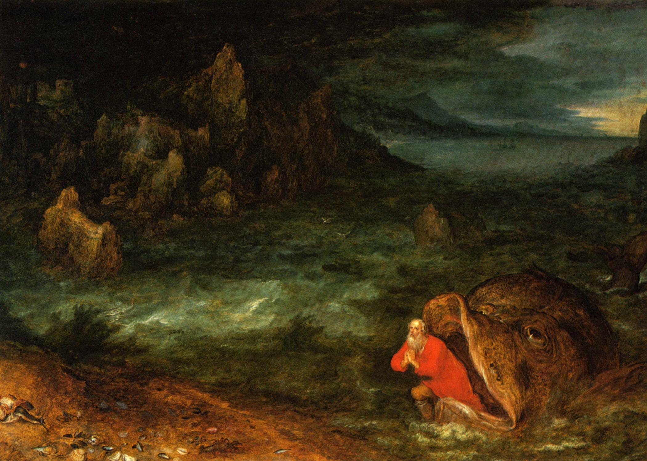 Jan Brueghel the Elder - Jonah Leaving the Whale (c. 1600).jpg