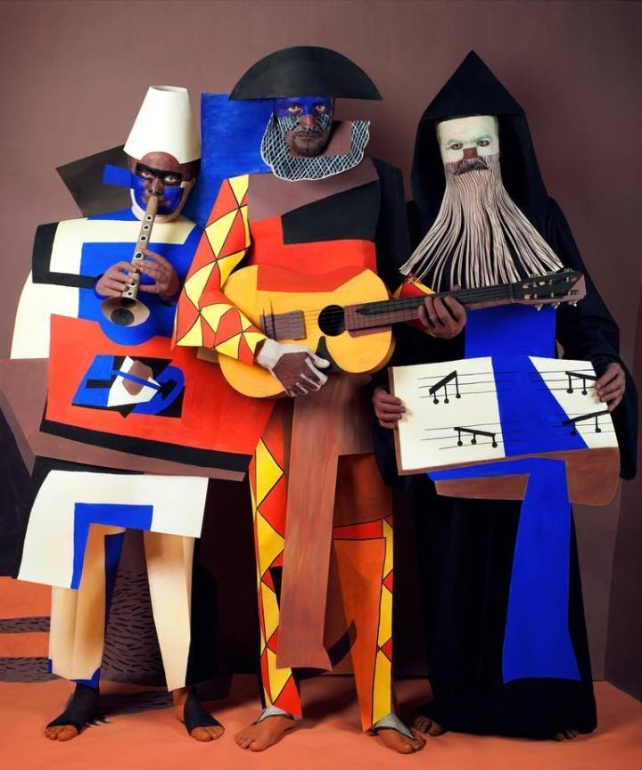 Irina Lesik - Three Musicians