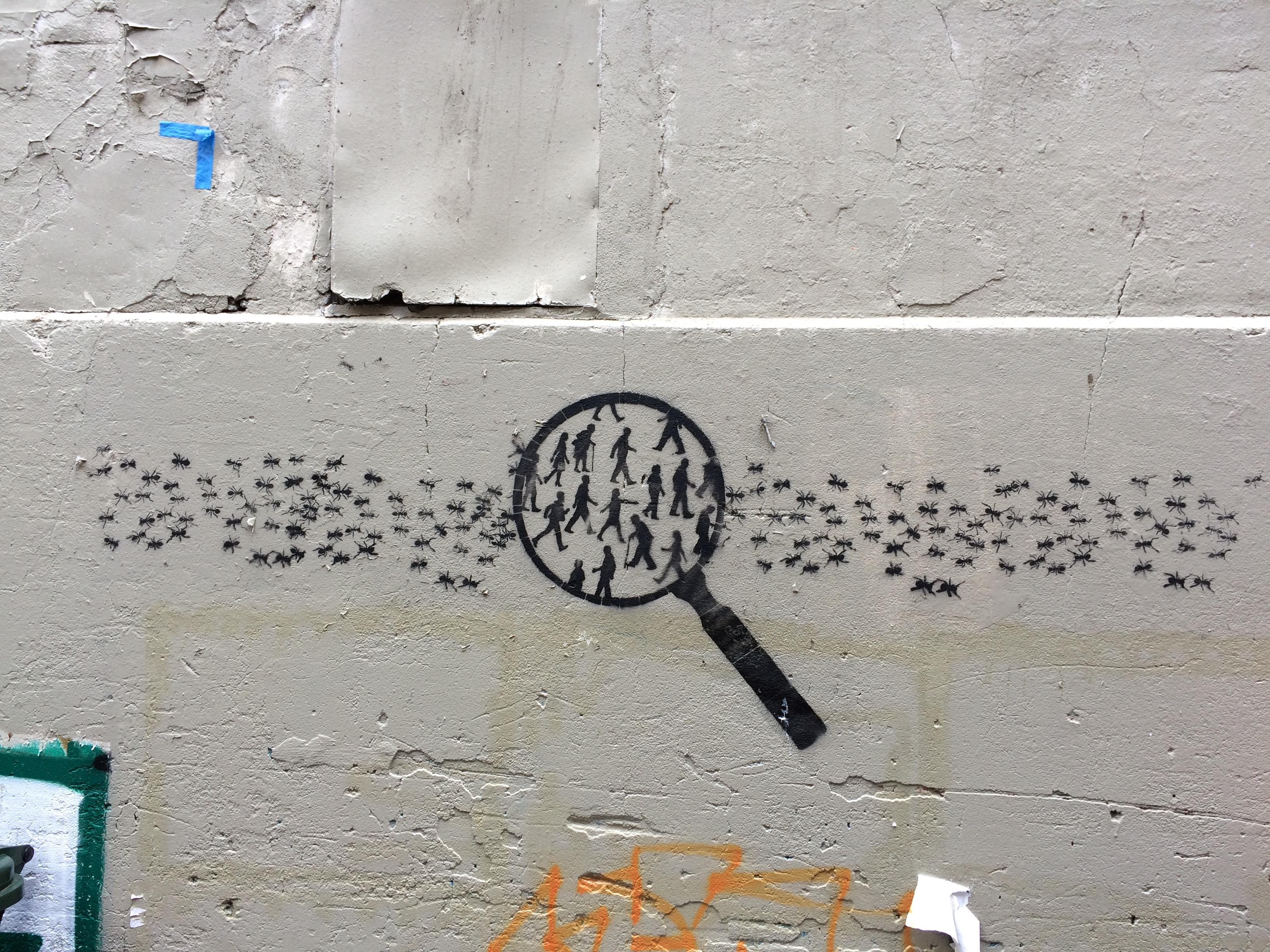 Human Ants (2) - Liverpool Street, Melbourne (11.10.19).JPG