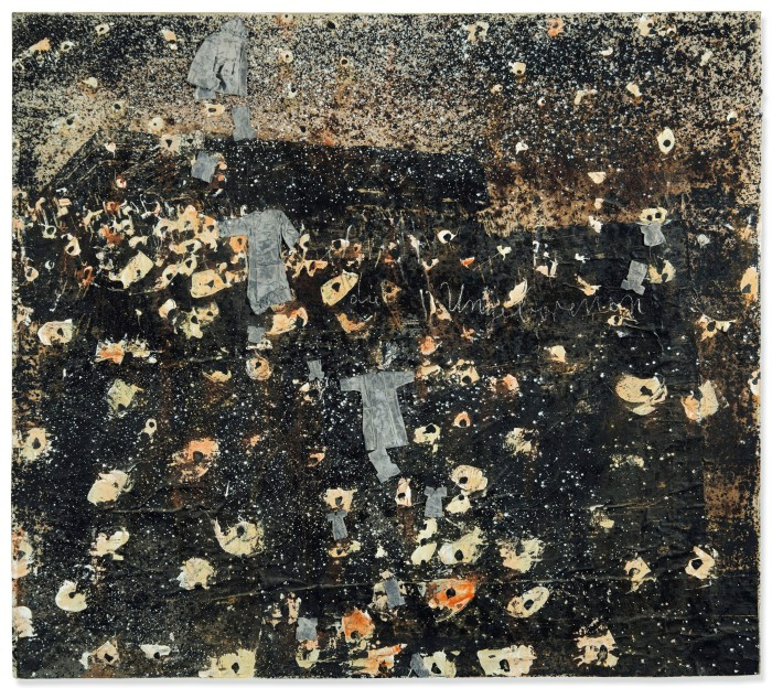 Anselm Kiefer, Die Ungeborenen (The Unborn), 1978. Acrylic, shellac emulsion and lead on paper collage laid on canvas, 170 x 189 cm. Private collection, Switzerland.jpg